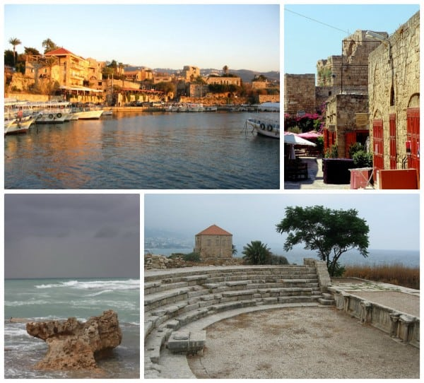 Clockwise from upperleft: The port (c) LeRamz, Flickr - The town (c) Nicolas Karim - The ruins (c) Grigory Gusev - The sea (c) Srsck