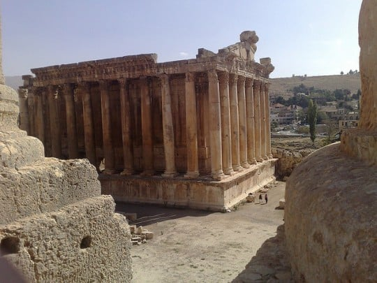 Baalbek (c) James Gallagher via Flickr.com