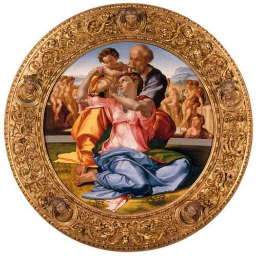 """""""Tondo Doni"""" van Michelangelo"""