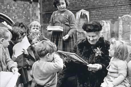 Maria Montessori..tijden veranderen...