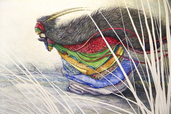 Watercolor on paper (c) Lesya Nedzelskaya