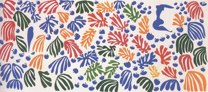 La Peruche et la Sirene (c) Matisse, uit 1952