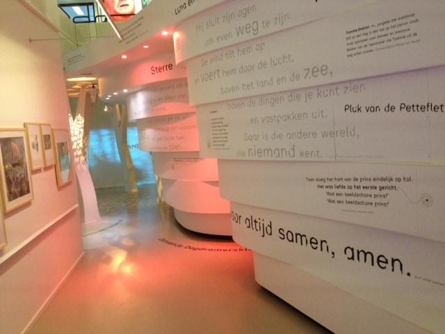 Overal woorden in het Kinderboekenmuseum