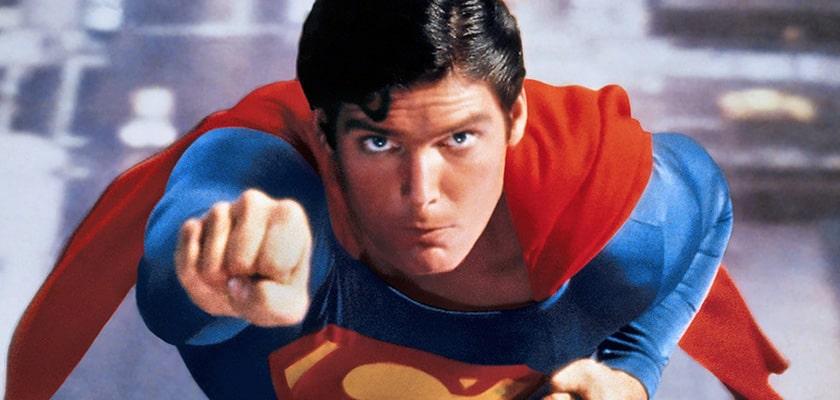 Christopher Reeve als Superman eind jaren '70 (c) Warner Bros