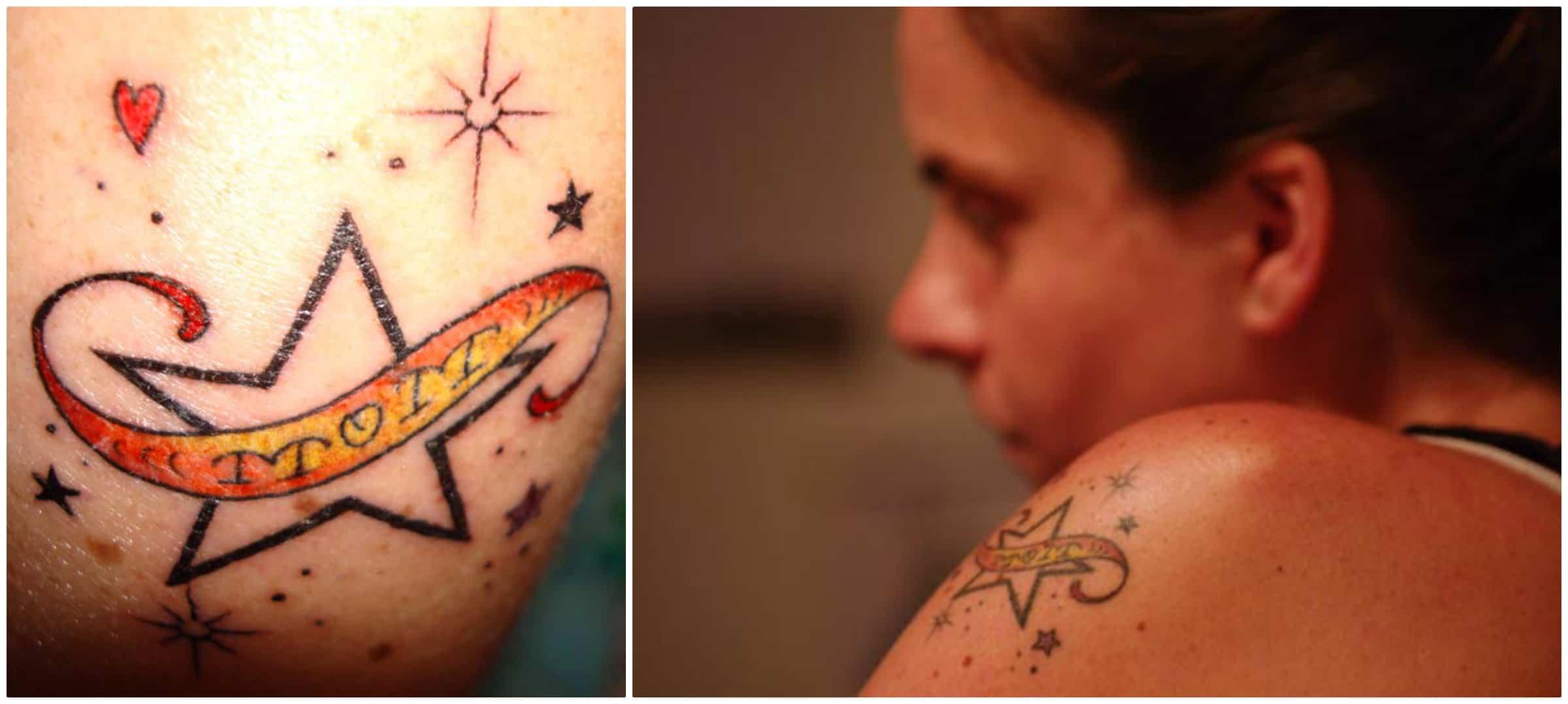 moeder dochter tattoo symbool