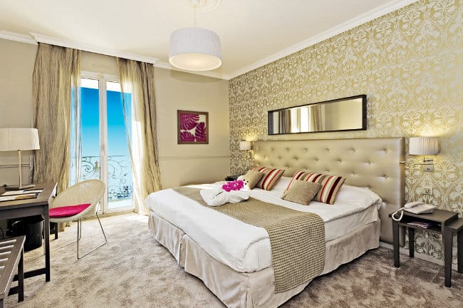 Een kamer in het hotel (c) Le Royal