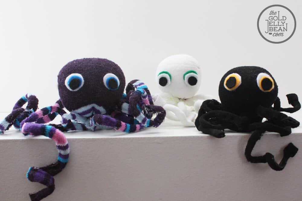 octopus sokken diy