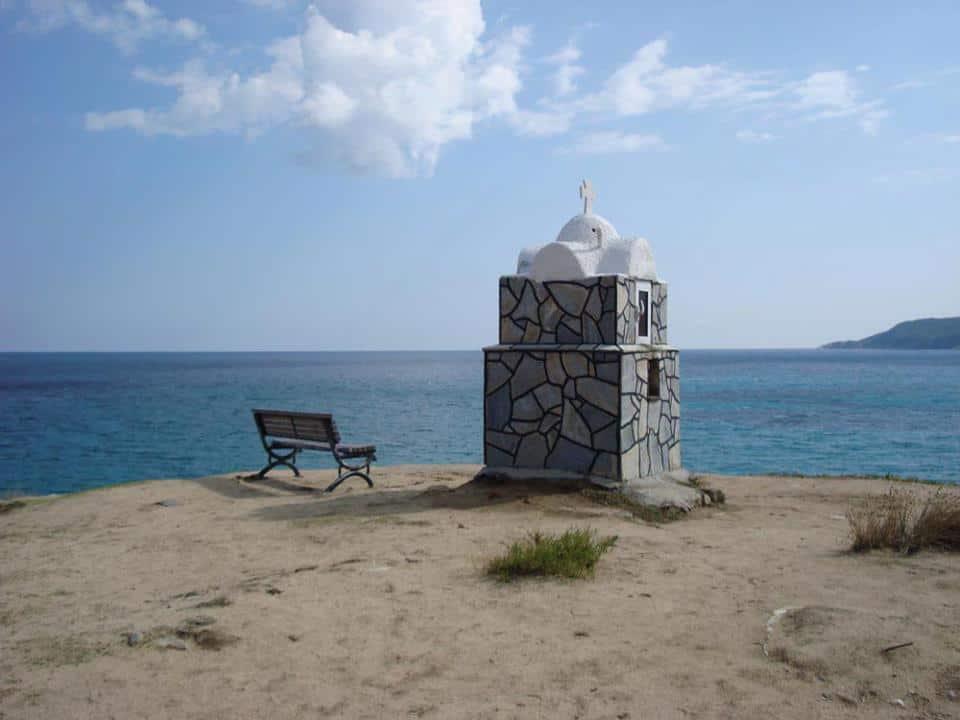 In Griekenland, hoe mooi is die zeekleur?! (c) Srsck