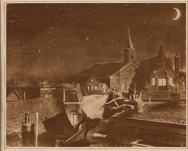 Sinterklaasprent uit 1917 (c) Janwillemsen via Flickr.com