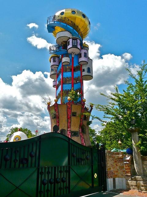 Kuchlbauer toren in Abensberg (c) Sanfamedia via Flickr.com
