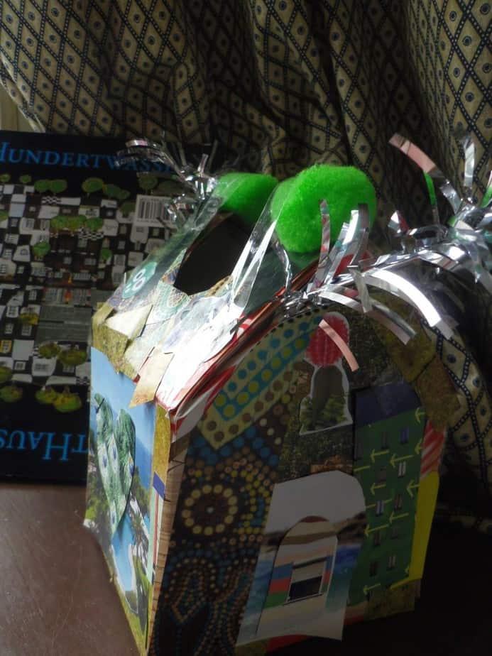 Hundertwasser-huisje van de kleine man