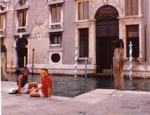 De goede herinneringen - Mijn moeder en ik in Venetie