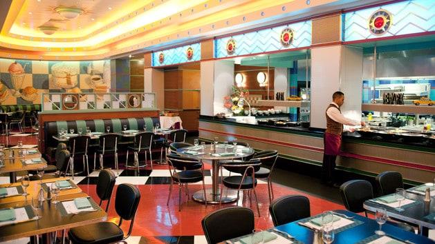 Parkside Diner (c) Disneyland