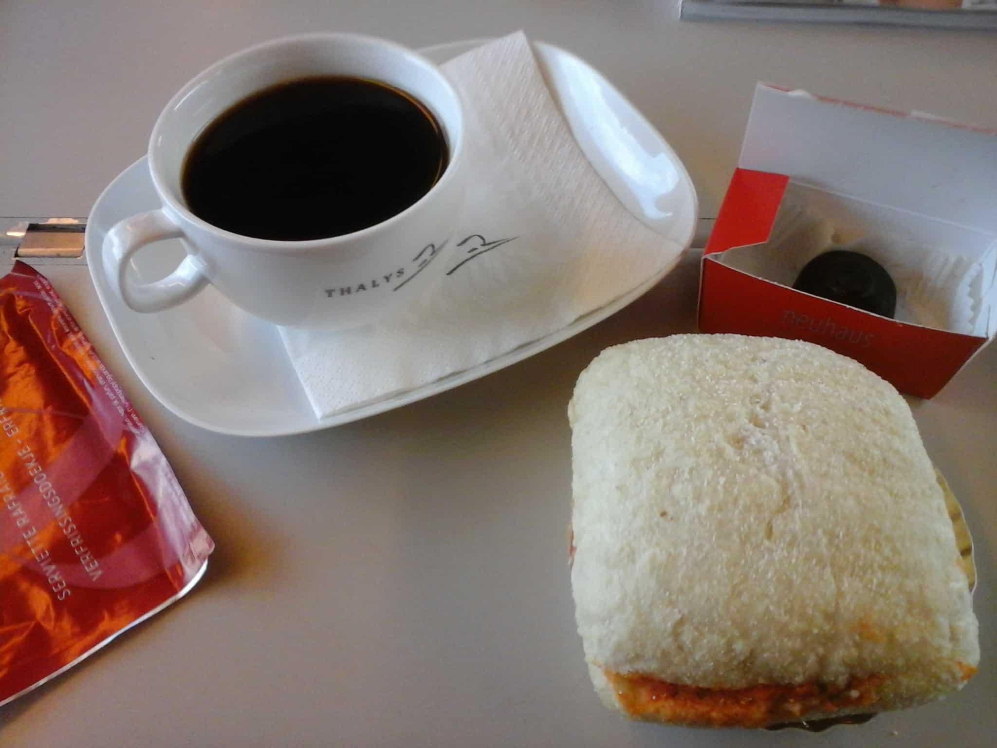 Koffie voor mama in de Thalys