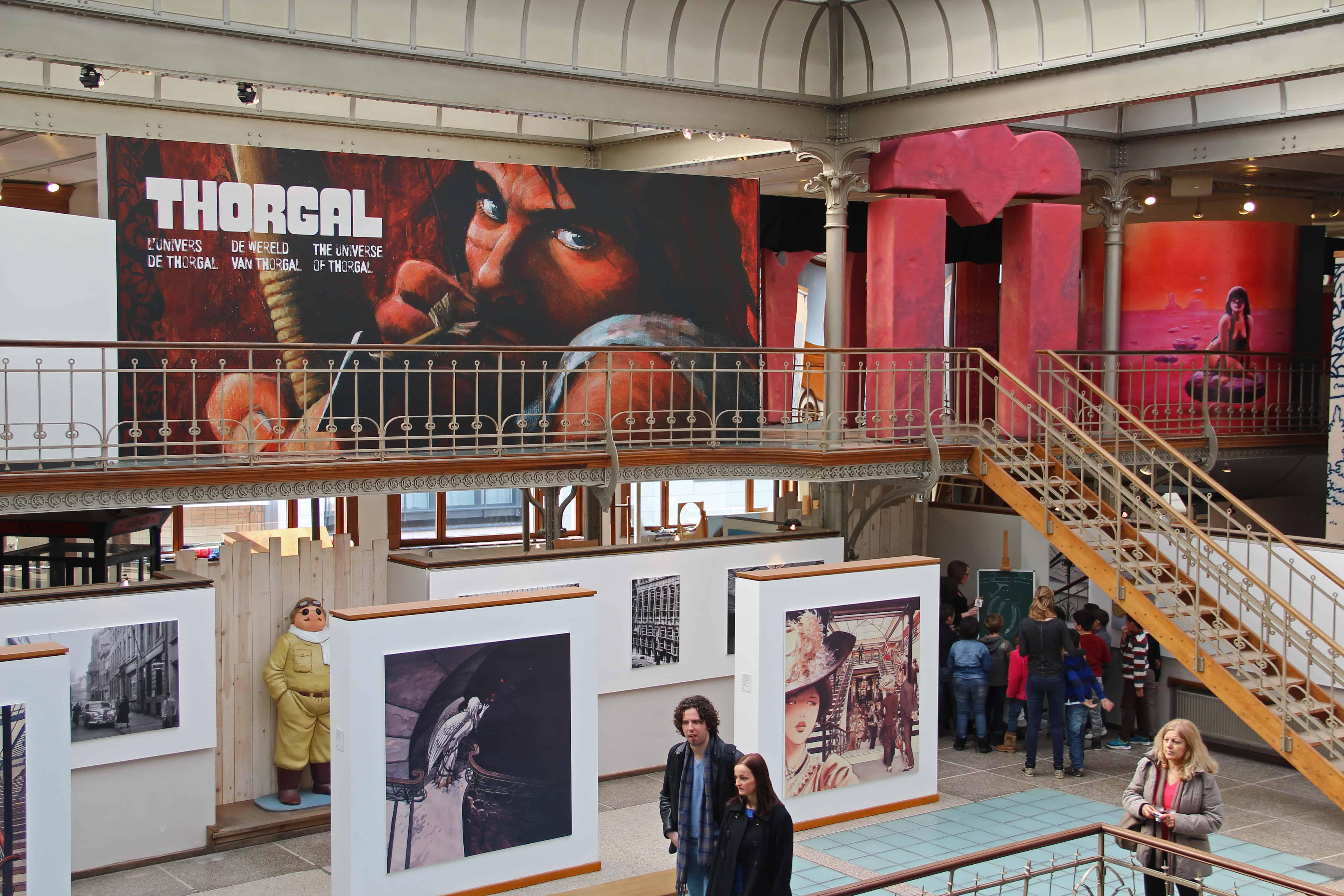 Thorgal tentoonstelling in het Stripmuseum tot september 2015