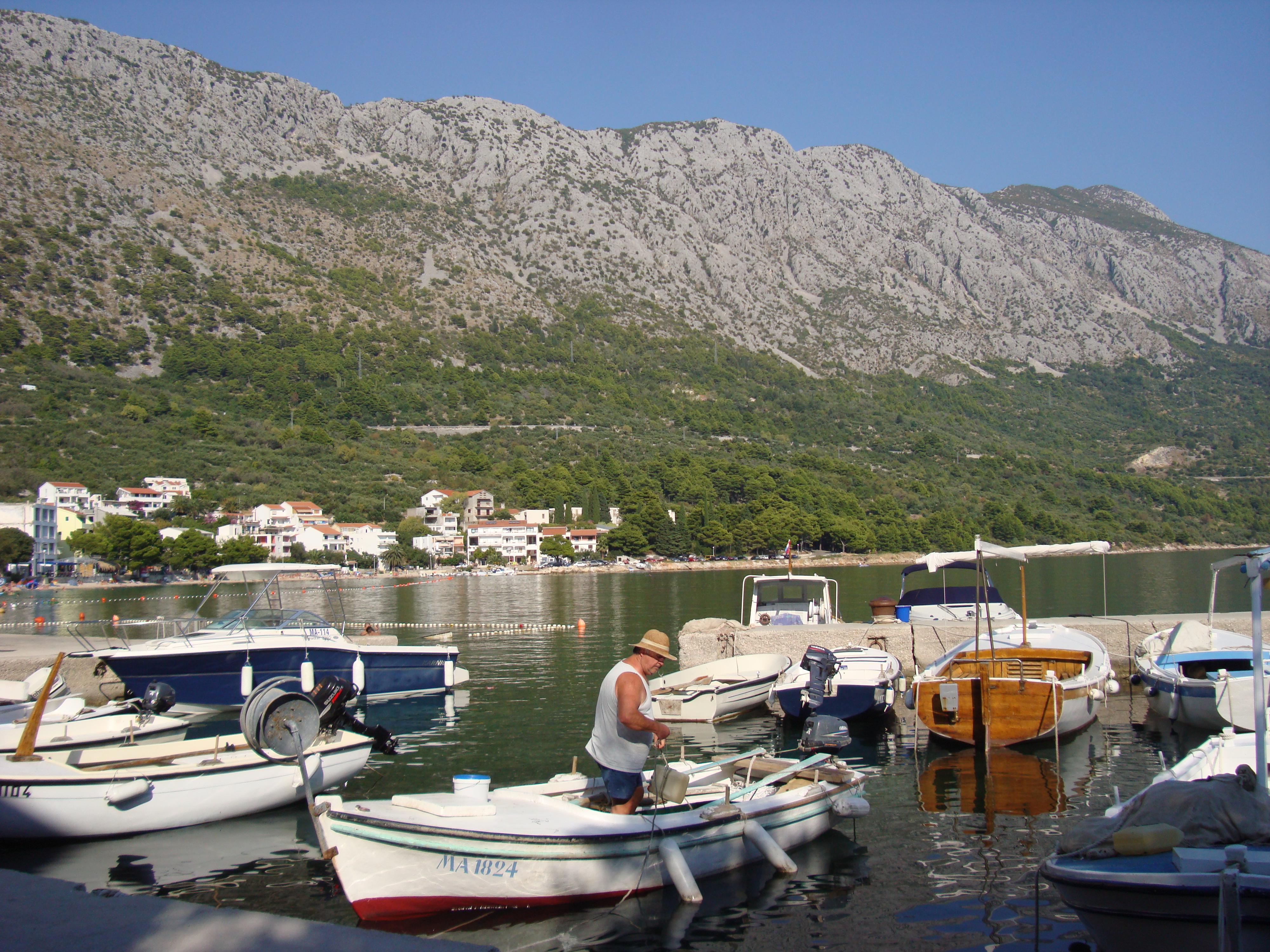 Heerlijk dorpje in Kroatie