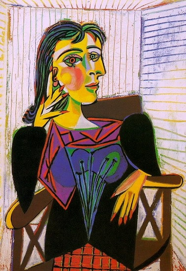 Portrait of Dora Maar, Pablo Picasso, 1937