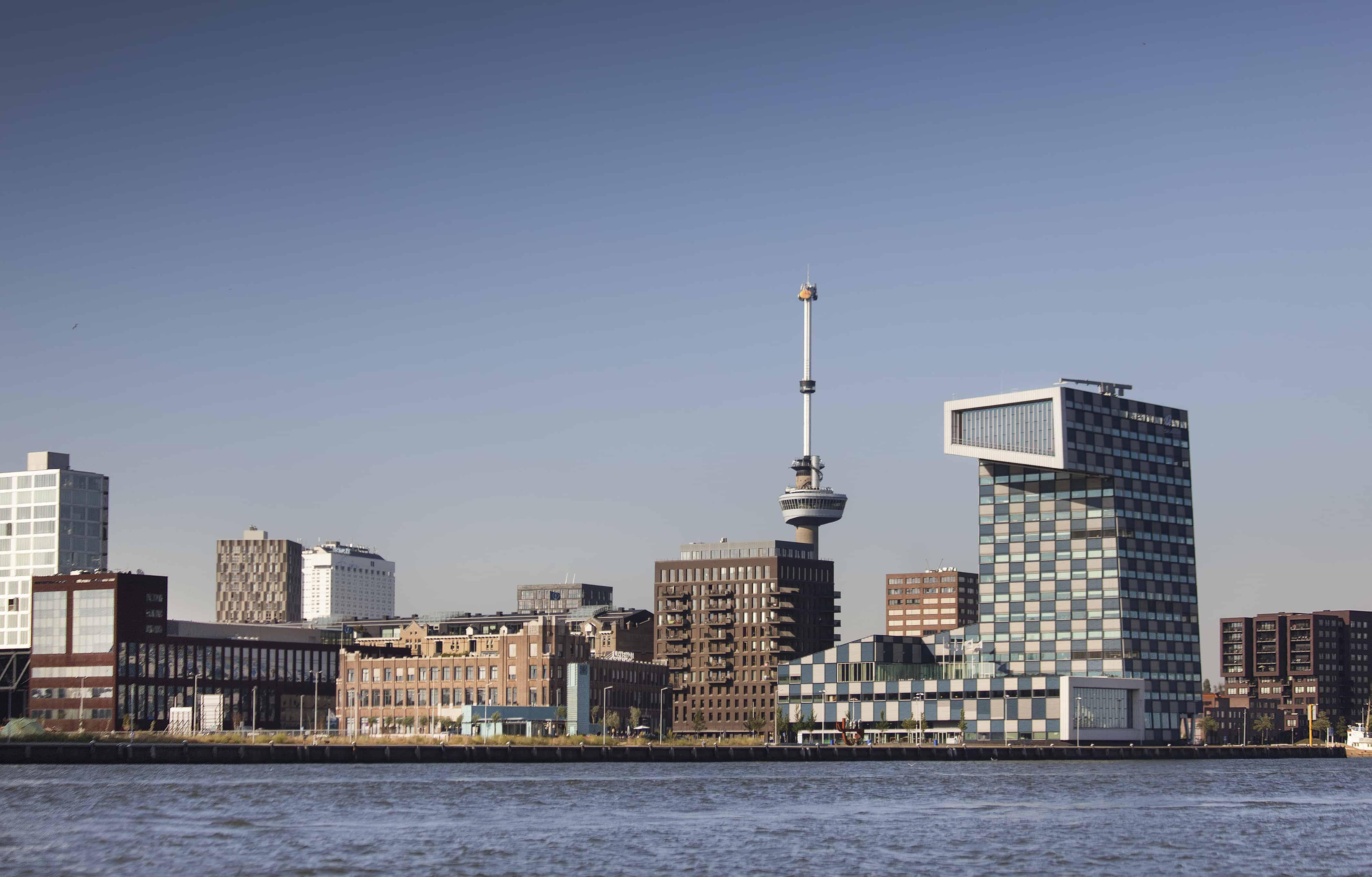 Het Lloydkwartier met de Euromast op de achtergrond (c) Claire Droppert
