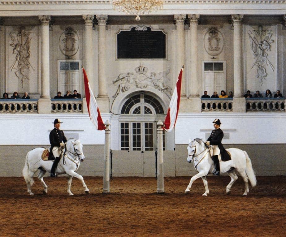 Spanish Riding School: Pas de Deux© WienTourismus/Spanische