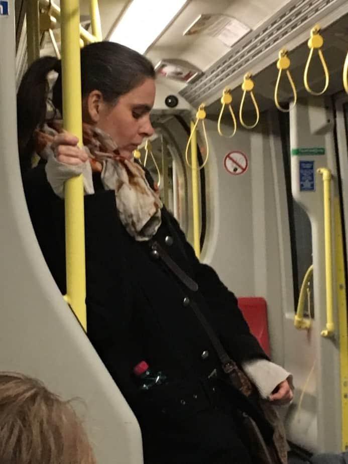 Moederlief in de tram