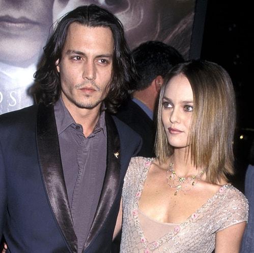 Vanessa Paradis en Johnny Depp