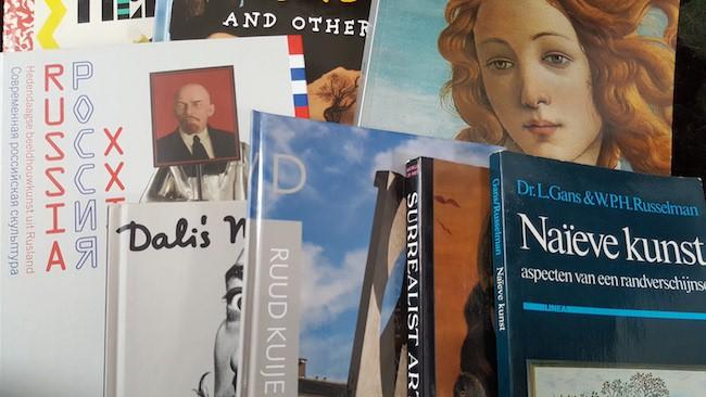 Boeken over kunst