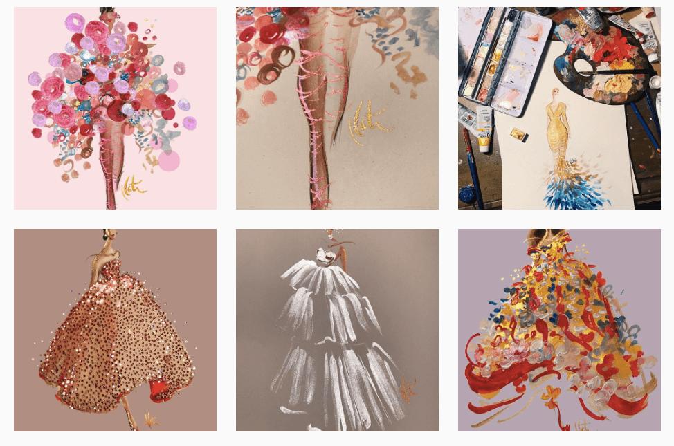 illustraties mode