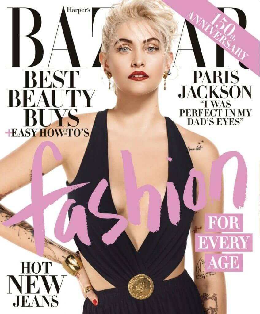 Harpers Bazaar Paris Jackson