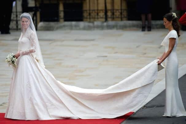 koninklijke trouwjurken