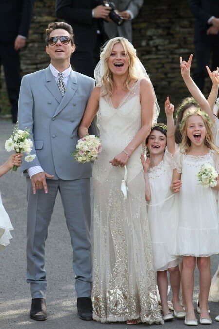 weddingdress Kate Moss