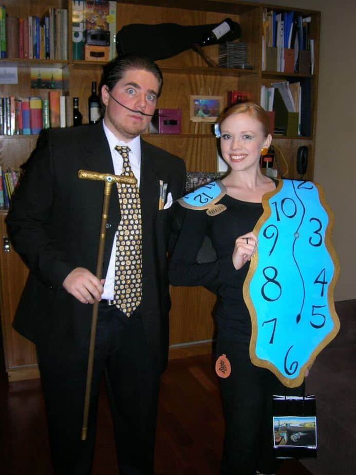 dali halloween costume