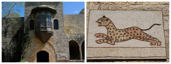 Beit ed-Din. Left (c) P.Donovan, Right (c) Carolinamibia, Flickr