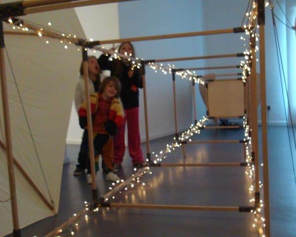 """Enjoying a """"weird installation"""", Museum of Modern Art - Collioure"""