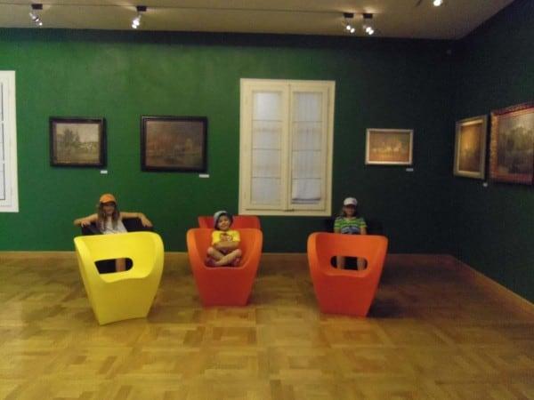 Chairs as art, Vidovic gallery - Split