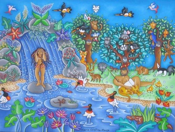 Le Bain au Paradis (c) Maria Cristina Haize