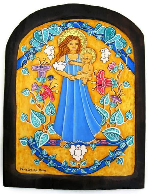 Vierge de la Paix (c) Maria Cristina Haize