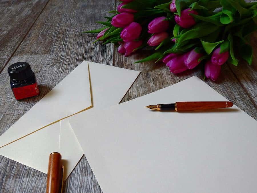 10 tips om de perfecte liefdesbrief te schrijven