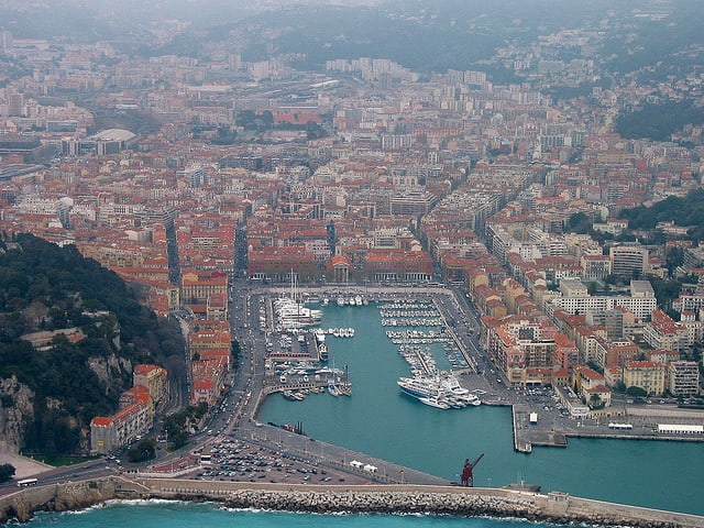 De haven van Nice (c) Cercamon via Flickr.com