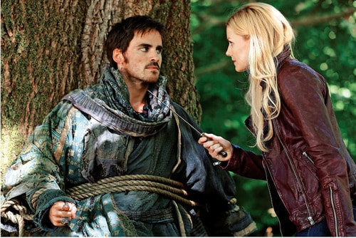 Acteren zoals hier in Once upon a time (c) Once upon a time