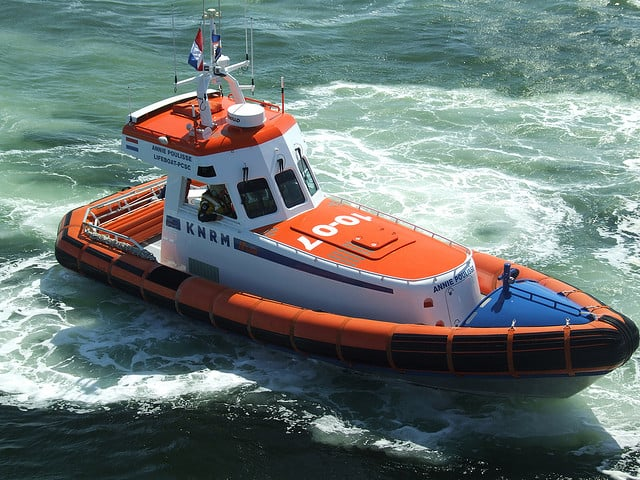 Reddingsboot va het KNRM (c) Bjorn V. via Flickr