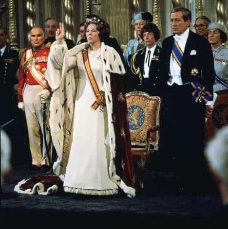 © ANP via de volkskrant inhuldiging Beatrix op 30 april 1980
