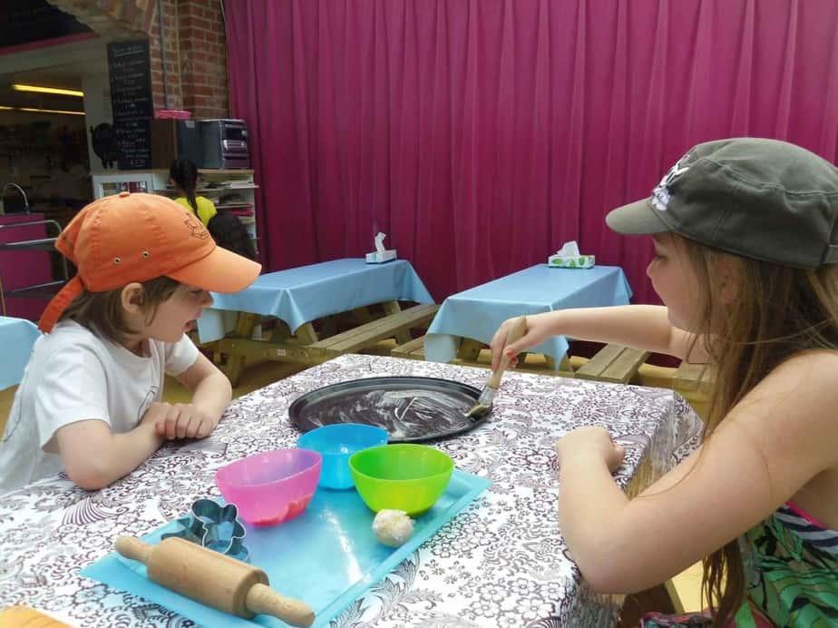Kinderfeestje in het Kinderkookkafé