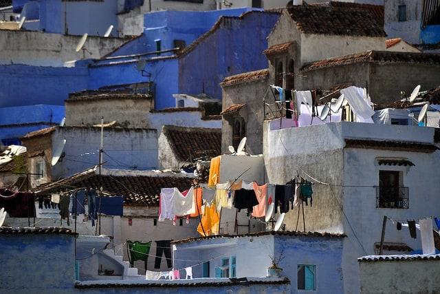 De blauwe stad Chefchaouen (c) Mario Tomé