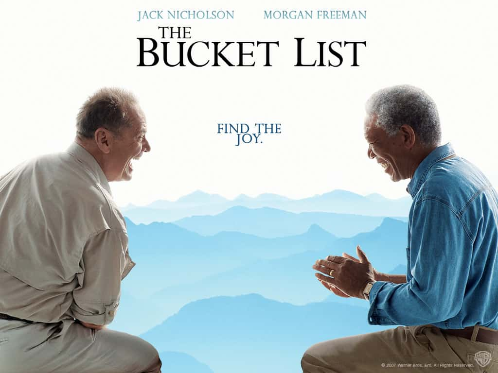 The Bucket List met Jack Nicholson en Morgan Freeman