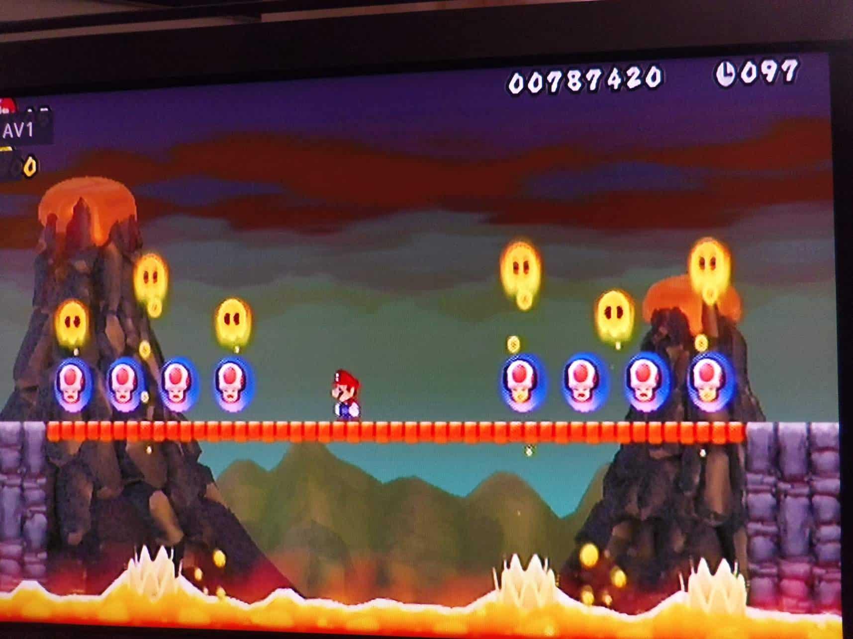 Wereld 8 uit Super Mario Bros. (c) srsck