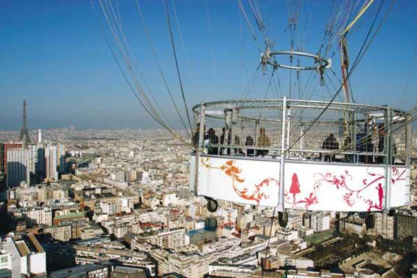 Geweldig uitzicht op Parijs (c) Ballon de Paris