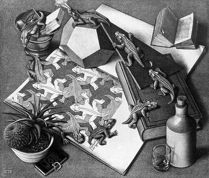Naar het museum: Escher in het Paleis