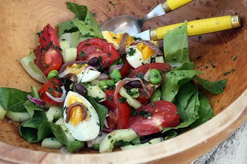 Salade Nicoise (c) David Lebovitz