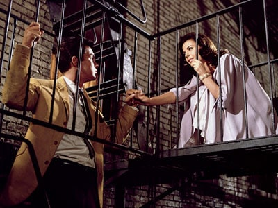 Stuk uit de film West Side Story