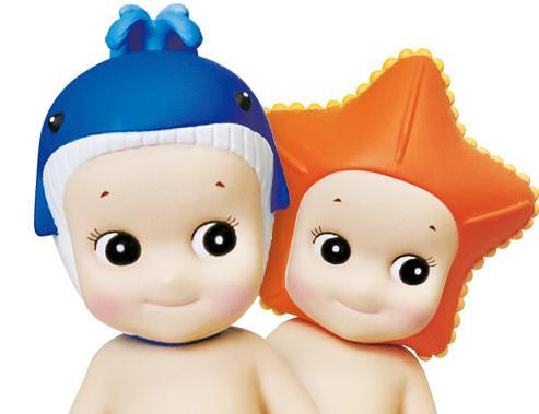 Twee Sonny Angels uit de marine serie via sonnyangel-benelux.com